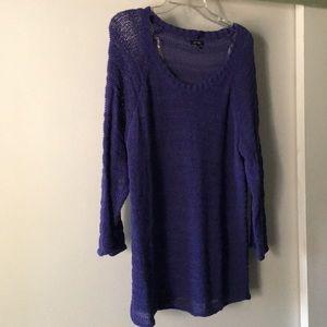 Lightweight blue sweater, XL