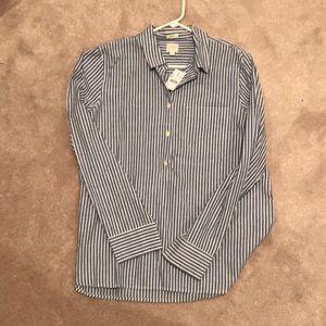 Jcrew bodyfit button relaxed shirt