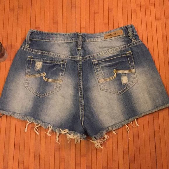 YMI Shorts - YMI High Rise Super Stretchy Novelty Wash Shorts