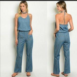 Pants - Jeans jumpsuit