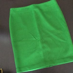 Talbots Kelly Green Pencil Skirt