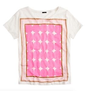 J. Crew Pop Art Dot Tee
