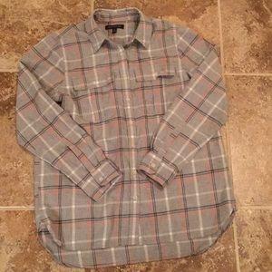 Banana Republic Cotton/Flannel Button Down, Size M