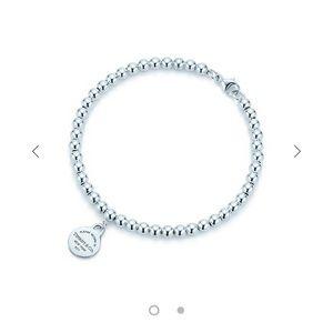 Return to Tiffany mini bead bracelet
