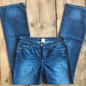 Banana Republic boot cut jeans 28