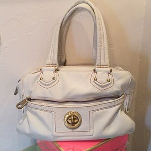 Marc by Marc Jacobs Cream Satchel