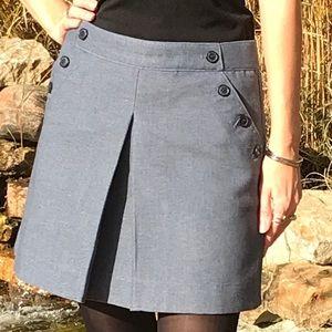 Gap pale blue skirt.