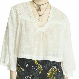 Free People Carry Me Away Top