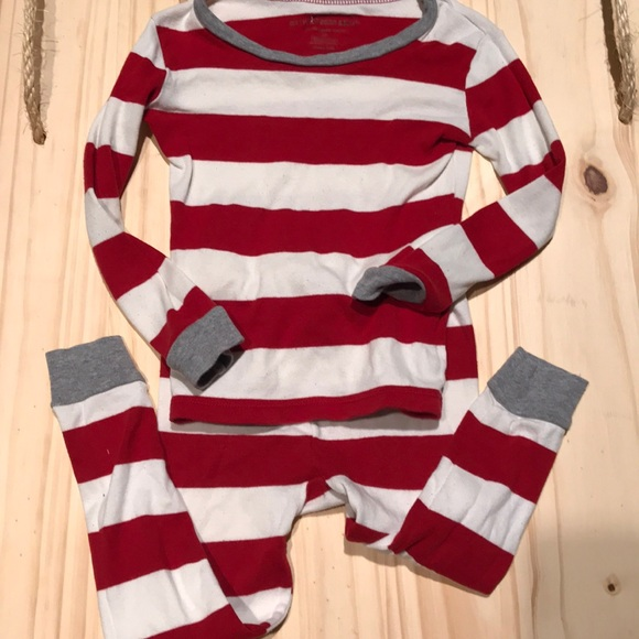 67% off Burt's Bees Baby Other - Burts Bees rugby striped pajamas ...