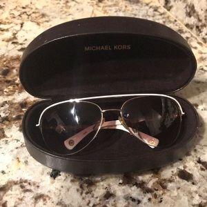 Michael Kors women aviator sunglasses