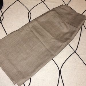Banana Republic sz 8 tweedy brown skirt