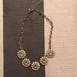 Jcrew gold necklace