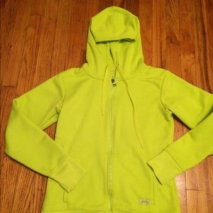 ⭐️New Listing⭐️Neon Under Armour Neon  Hoodie