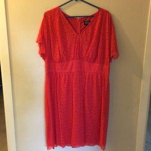 Adrianna Papell short sleeve dress