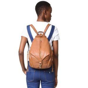 Rebecca Minkoff Julian backpack almond tan leather