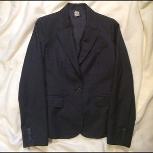 J.Crew Grey Wool Blazer, 4