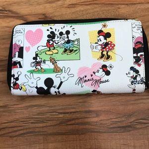 Disneyland Wallet Mickey and Minnie