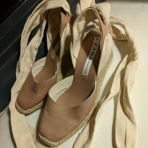 Zara wedge heel