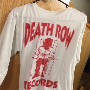 Death row records shirt men's graphic