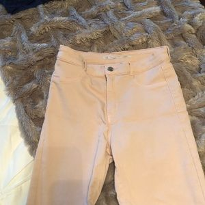 Pink/nude pants from Zara
