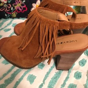 Lucky Brand booties never worn