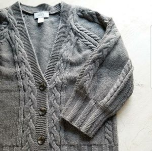 LOFT Wool Blend Button Front Cardigan Soft size XS