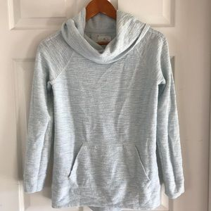 Lou and grey blue cowl neck sweater