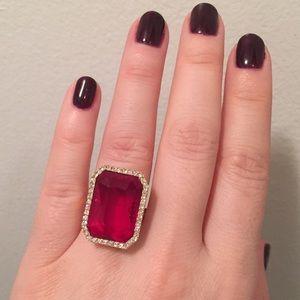 Michael Kors Sexy Ruby ring