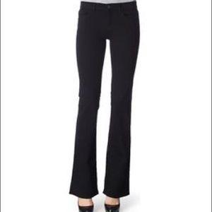 {J Brand} Mid Rise Slim Bootcut Jeans Hewson Black