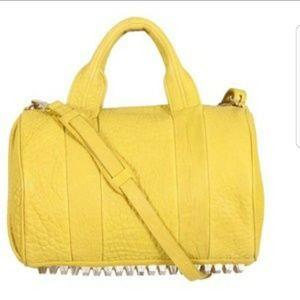 Rare Alexander Wang Rocco yellow bag