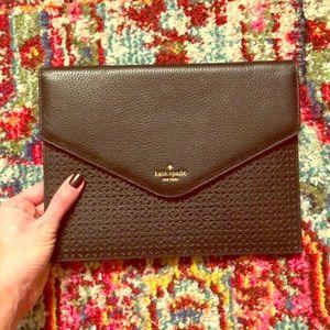 Kate Spade envelope clutch: WORN 2x
