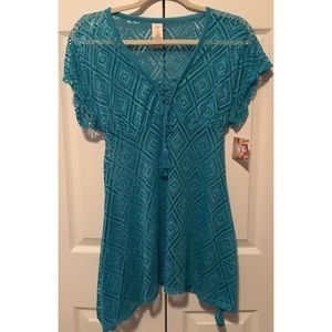 NWT Criss Cross Cover Up Dress
