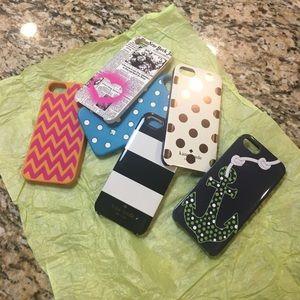iPhone 5s cases- Kate Spade & Vera Bradley