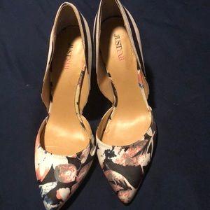 Flora just fab heels