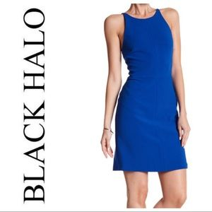 "NWT!- Black Halo ""Bermuda"" Dress- Size 6- Blue"