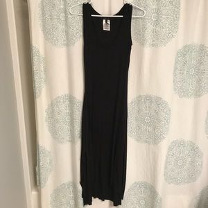 BCBG maxi dress rayon and spandex