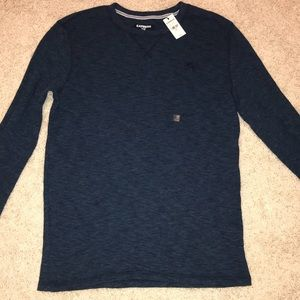 Express Men's Thermal Long Sleeve Tee NWT