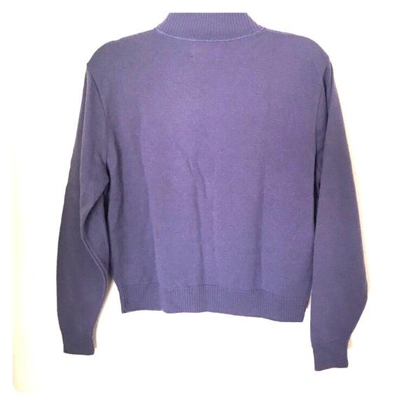 56% off Pendleton Sweaters - Pendleton lavender mock turtleneck ...