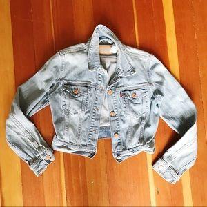 Vintage Levi's Cropped Jean Jacket