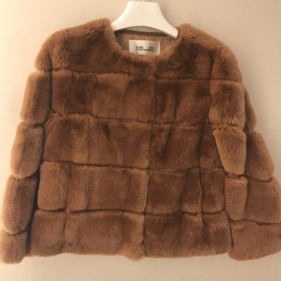 1fa7be7dfd13 Dvf Diane Von Furstenberg size XS Fur Jacket