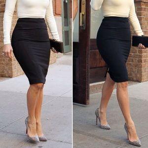 Basic Black Pencil Skirt