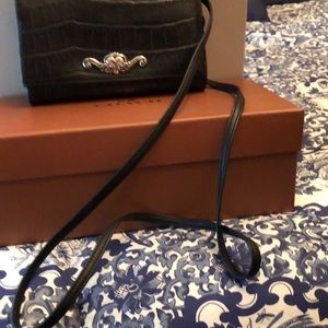 Wallet by Brighton with cross body strap