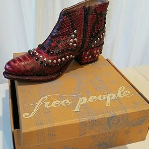 Free People Cowboy ankle Boots