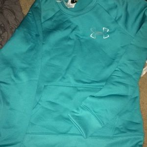 Brand new Teal Underwear sweatshirt