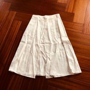Vintage linen blend skirt
