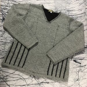 Small gray The Territory Ahead wool blend sweater