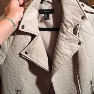 Nude Forever 21 Jacket Size Large new but no tags