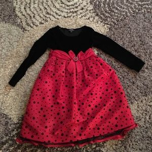 Black and red dress size 8