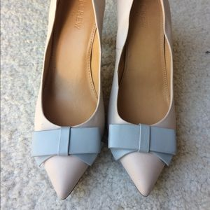 J. Crew Collection Leather Pumps with Bows