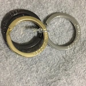 MARC JACOBS brand new set of 3 rings